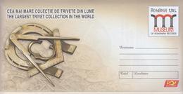 ROMANIA 2019:FREEMASONRY 2 Unused Postal Stationery Covers - Registered Shipping! Envoi Enregistre! - Massoneria
