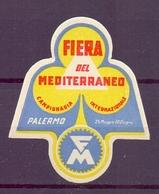 CINDERELLA ERINNOFILIA FIERA DEL MEDITERRANEO CAMPIONARIA PALERMO    (GIUGN190048) - Erinnofilia
