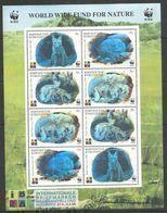 KYRGYZSTAN - MNH - Animals - Wild Animals - WWF - Silver - Briefmarken