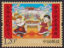 CHINA, 2019, MNH, CHINESE NEW YEAR, NEW YEAR, 1v - New Year