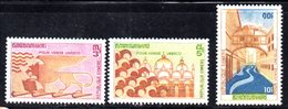 APR1367 - CAMBOGIA KHMER 1972 , Serie Michel N. 318/320  ***  MNH  Unesco - Cambogia
