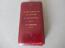 Boîte Pour Médaille Attribuée Sur Le Couvercle - 1914-18
