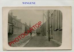 WINGENE-CARTE PHOTO Allemande-Guerre 14-18-1WK-BELGIEN-Flandern- - Wingene