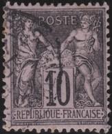 France   .    Yvert  .      103       .     O     .    Oblitéré   .   /   .     Cancelled - 1898-1900 Sage (Type III)
