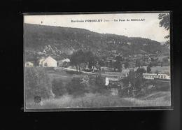 C.P.A. DU PONT DU BRILLAT AUX ENVIRONS D.ORGELET 39 - Orgelet