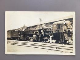 TRUCKEE - California - Nevada County - Mallet Compound Mountain Climber - Railway - Train - Trains