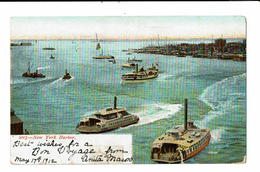 CPA - Carte Postale Etats Unis -New York Harbor -1912 - VM3247 - Other