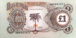 Biafra 1 Pound, P-5a - UNC - Kongo