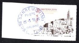Italia 2019 - Matera Capitale Europea Della Cultura - 6. 1946-.. Repubblica