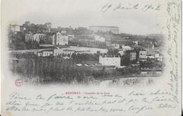 ANNONAY : Quartier De La Gare (1902 ) - Annonay