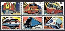 Grenada / Grenadines - Mi- Nr 495/500 Postfrisch / MNH ** (E1151) - Eisenbahnen