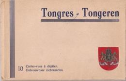 Carnet Avec 10 Cartes De Tongres Edit. Maison Joseph Collée à Tongres - Tongeren