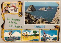 Cp , 29 , CAMARET , La Presqu'île De Crozon , Les Tas De Pois , Multi-Vues - Camaret-sur-Mer