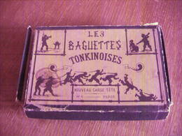 JEU ANCIEN LES BAGUETTES TONKINOISES CASSE TETE WATILLIAUX PARIS Vers 1900 COMPLET - Toy Memorabilia
