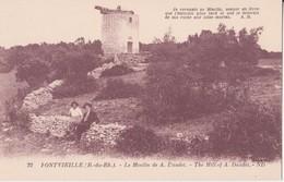 CPA - 22. FONTVIEILLE - Le Moulin De A. DAUDET - Fontvieille