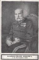 TRAUERKARTE KAISER FRANZ JOSEF I - * 21.November 1916 - Königshäuser