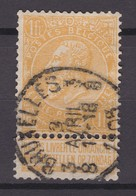 N° 65  BRUXELLES  3.8 - 1893-1900 Fine Barbe