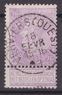 N° 67 VERVIERS OUEST - 1893-1900 Fine Barbe