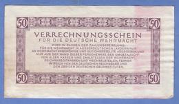 50 REICHSMARK 1944, BANKNOTE Umlaufschein - 50 Reichsmark