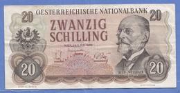 20 SCHILLING 1950, BANKNOTE Umlaufschein - Autriche