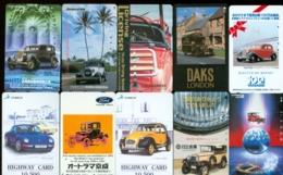 10 Télécartes Différentes VOITURE  (LOT 6)  10 DIFFERENT PHONECARDS CAR  * 10 VERSCHIEDENE TELEFONKARTEN AUTO - Automobili