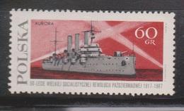 POLAND Scott # 1532 MH - Battlehip Aurora - 1944-.... Republic
