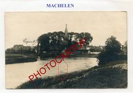 MACHELEN-CARTE PHOTO Allemande-Guerre 14-18-1WK-BELGIEN-Flandern-Feldpost- - Machelen