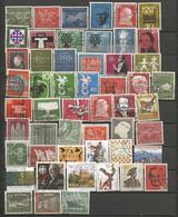 Allemagne Fédérale - 600 Timbres GF Oblitérés Tous Différents - Stamps