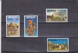 Botswana Nº 254 Al 257 - Botswana (1966-...)