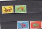 Botswana Nº 219 Al 222 - Botswana (1966-...)