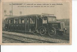 LA MICHELINE SUR PNEUS - Trains