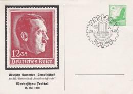 Deutsches Reich Privat Postkarte 1938 - Poste Privée