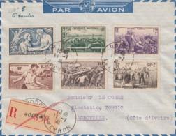 France R Cover / Lettre 1941 - Non Classés