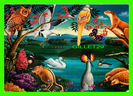 OISEAUX - UNITED NATIONS POSTALE ADMINISTRATION - DESSIN OF CARLOS OCHAGAVIA, ARGENTINE - TRAVEL IN 1998 - - Oiseaux