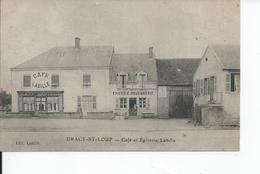 Dracy St Loup  CAFE ET EPICERIE Labilie - France