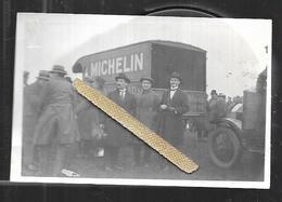 Photo Originale Camion Michelin Datée 6 -23 - Automobiles