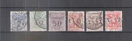Italie - Timbres Taxes Pour Mandats - Yv.1/6 - Série Complète - Obl/gest/used (à Voir) - 1900-44 Victor Emmanuel III