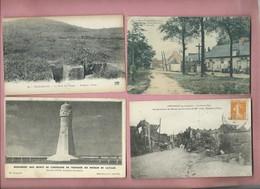 8 Cartes -Vauxaillon - Mons En Laonnois - Laffaux - Chevregny - Faucoucourt - Royaucourt - Chevregny-Lizy - Autres Communes