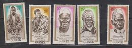 GUINEA Scott # 258-62 MH - Heros & Martyrs Of Africa - Guinea (1958-...)