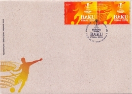 2019 UEFA Europa League Final. Azerbaijan Stamps. FDC - Azerbaïdjan