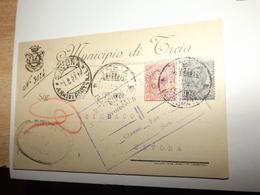 LOTTO MISTO DI STORIA POSTALE ITALIANA E NON 580 GRAMMI AMBASCIATA ITALIANA IN EQUATORE MUNICIPIO OSPEDALE - Italia