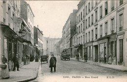 (107)  CPA  Paris  Rue Erard   (Bon état) - Arrondissement: 12