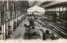 (107)  CPA  Paris  Gare D' Austerlitz  (Bon état) - District 13
