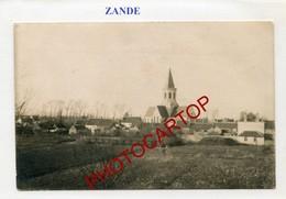 ZANDE-CARTE PHOTO Allemande-Guerre 14-18-1WK-BELGIEN-Flandern- - Koekelare