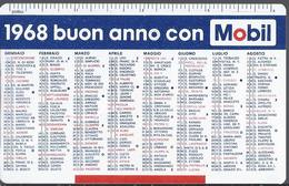 Calendarietto Mobil - 1968 - Calendario - Petit Format : 1961-70