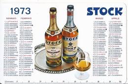 Calendarietto Stock - Long John Whisky - Grappa Julia - 1973 - Calendario - Formato Piccolo : 1971-80