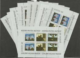 HR 1993-240-2 EUROPA CEPT, HRVATSKA CROATIA, 10 X MS, MNH - Europa-CEPT