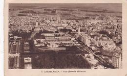 CASABLANCA. VUE GENERALE AERIENNE. MARRUECOS. PHOTO FLANDRIN. CPA CIRCA 1930s - BLEUP - Casablanca