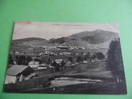 CPA   -  CULLIAURY - LA SAGNE ET STE CROIX - VD Vaud