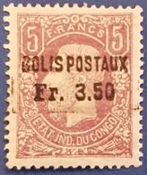 CP1 - Colis Postaux - 5F - Belgisch-Kongo